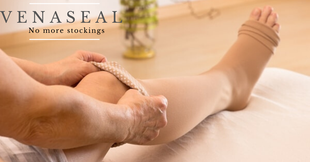 5 REASONS TO CHOOSE VENASEAL-- THE LATEST TREATMENT OPTION FOR VARICOSE VEINS.